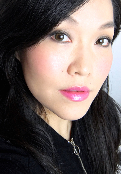 L'Oreal Colour Riche Balm Pop Wild Lily FOTD