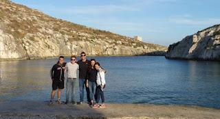 Mgarr ix-Xini Bay, isla de Gozo.