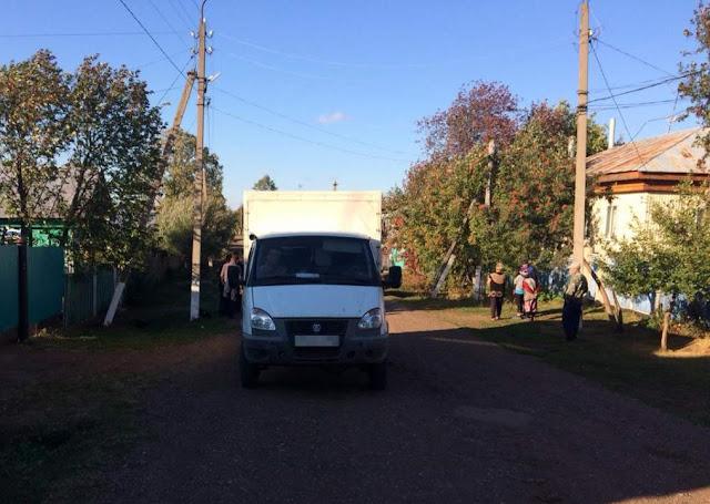 В Башкирии 2-летняя девочка попала под ГАЗель