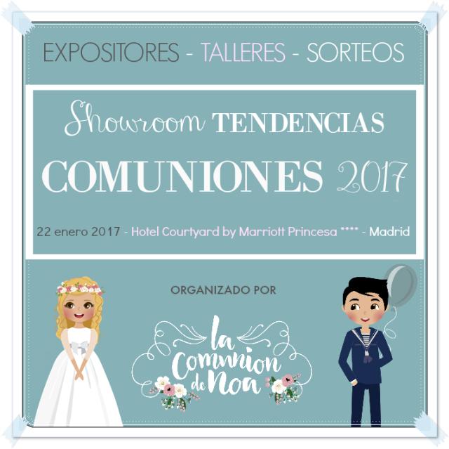 Taller Gratis Showroom Tendencias Comuniones 2017 La Comunion de Noa