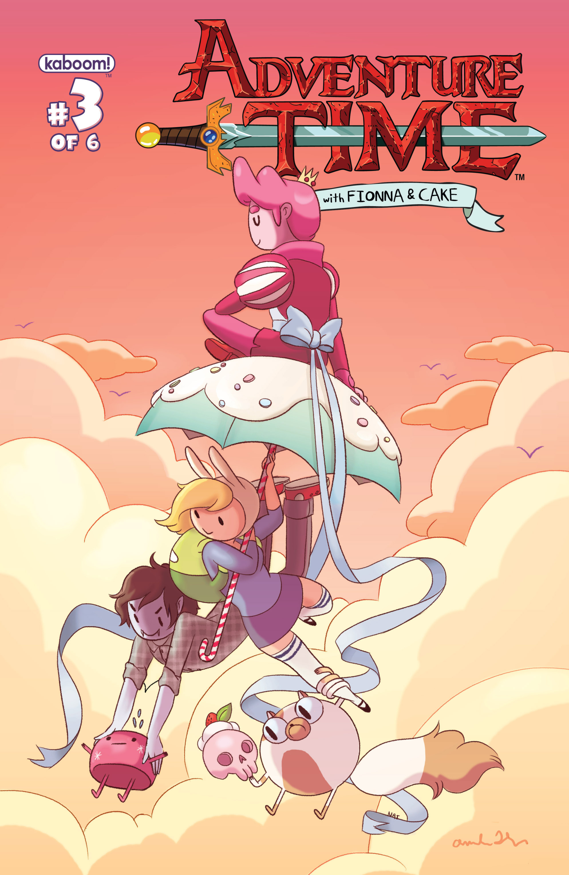 Read online Adventure Time with Fionna & Cake comic -  Issue #3 - 1