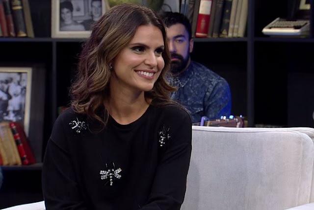Resultado de imagem para Aline Barros gera polêmica ao dizer em programa de TV que não concorda com as práticas homossexuais