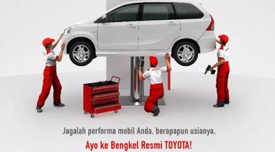 bengkel Toyota Jakarta Barat