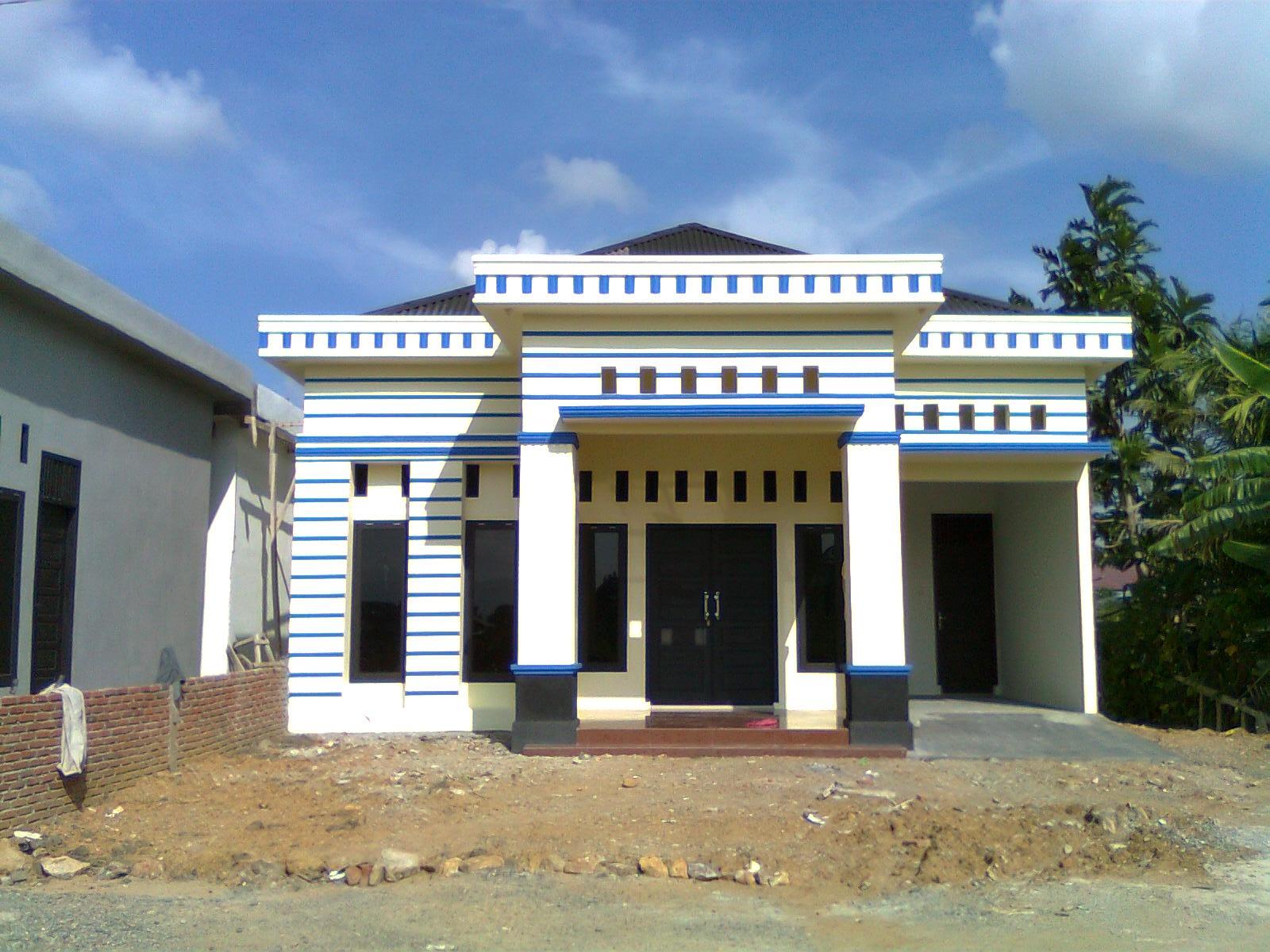 Contoh Rumah Minimalis Di Kampung Interior Rumah