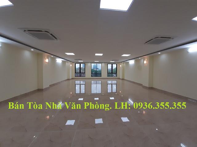 Bán tòa nhà mặt phố Nguyễn Ngọc Vũ, Cầu Giấy