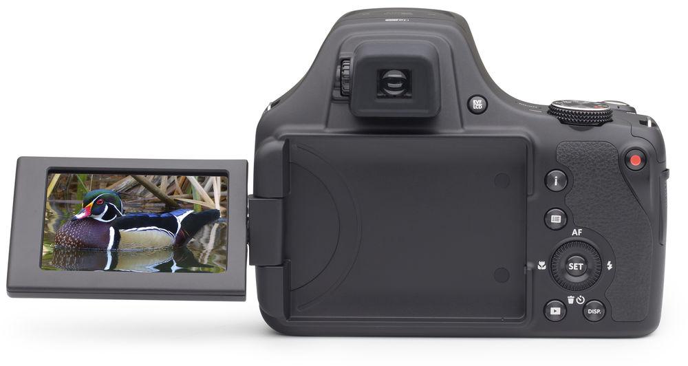 Kodak Pixpro AZ901, вид сзади