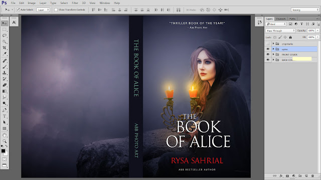 48 Design cover buku Novel dengan Photoshop CC part2