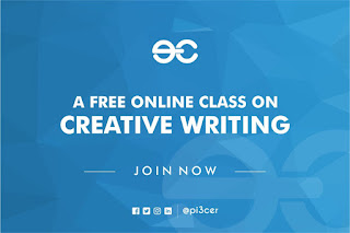 register for pi3cer free online creative writing class