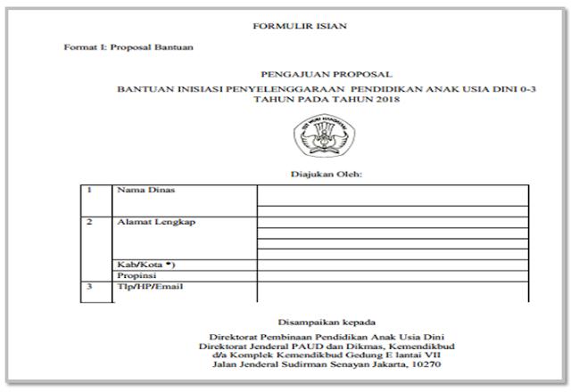 Download Petunjuk teknis bantuan PAUD pra Sekolah Dasar 2018