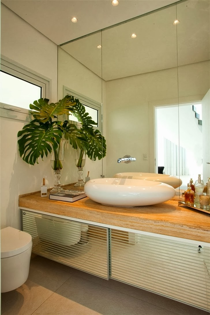 Second bathroom in Dream home by Pupo Gaspar Arquitetura