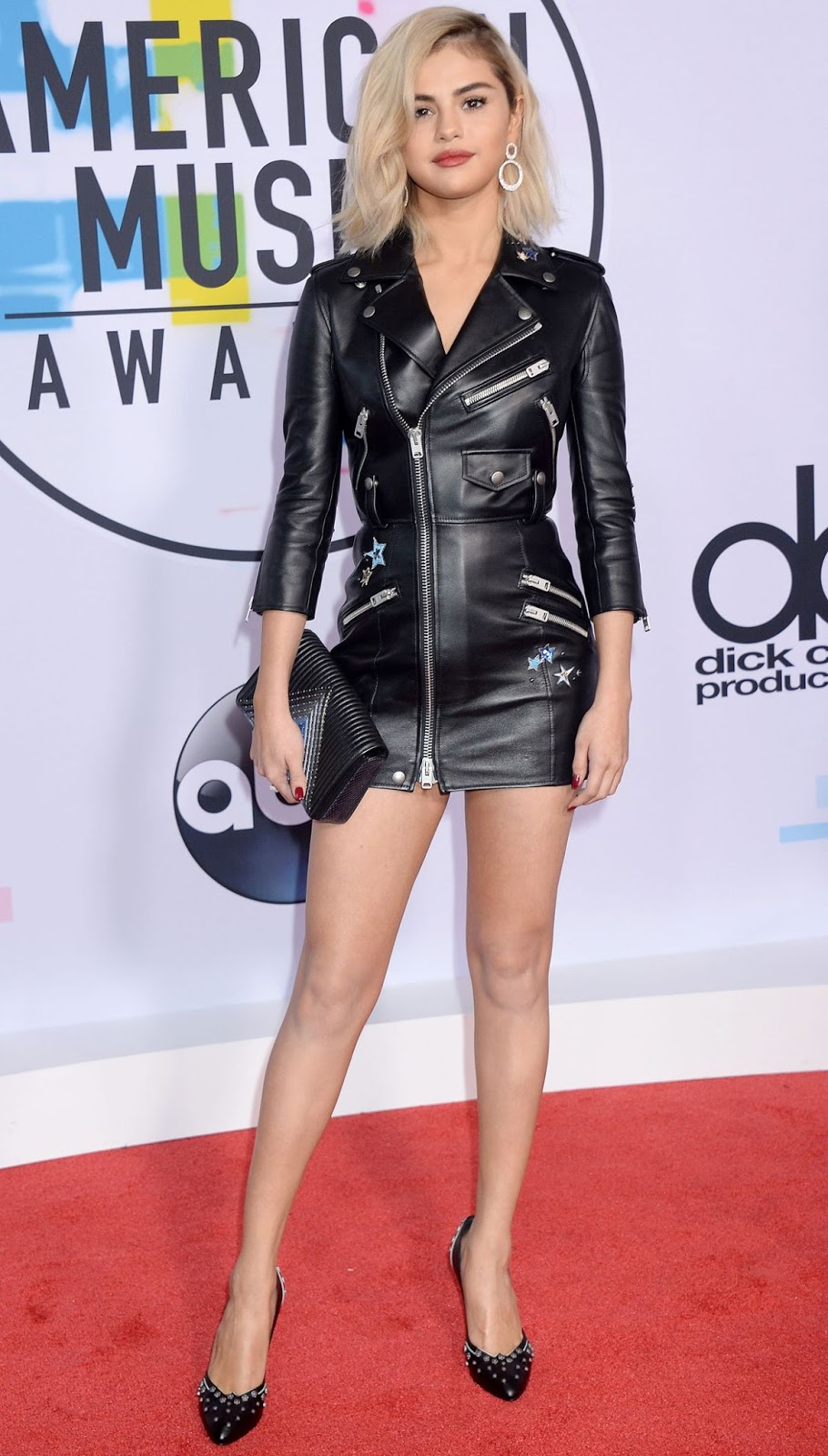 Photos of Selena Gomez at American Music Awards 2017 at Microsoft Theater in Los Angeles