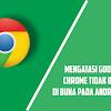 Cara Mengatasi Google Chrome Tidak Bisa Di Buka, Error dan Berfungsi Di Android