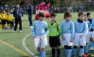 partita di calcio per associazione Mia