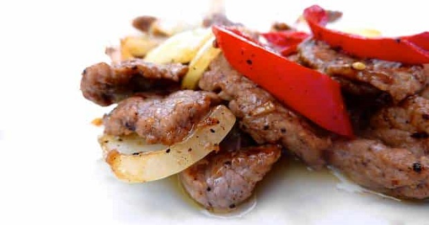 Thai Pepper Steak Recipe