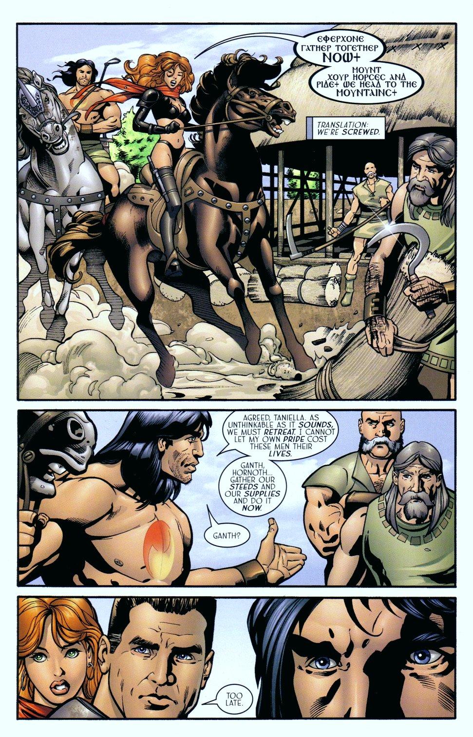 Read online Sigil (2000) comic -  Issue #18 - 20