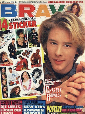 Bravo Magazine 1991 featuring the one and only Chesney Hawkes