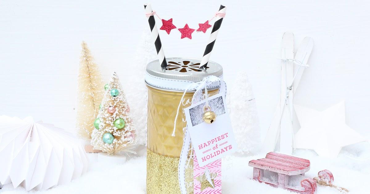 weihnachtsdeko mit mason jar gl ser scrap sweet scrap. Black Bedroom Furniture Sets. Home Design Ideas