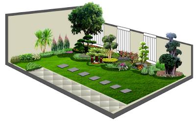 Model Taman Minimalis Untuk Rumah Sederhana