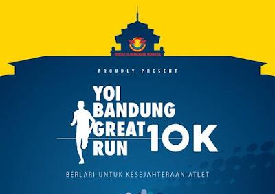 Bandung Great Run 10K 2016, gedung merdeka bandung yayasan olahragawan indonesia