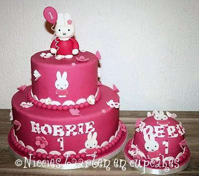 nijntje taart maken Niccies taarten en cupcakes Hoofddorp: Boltaarten nijntje taart maken