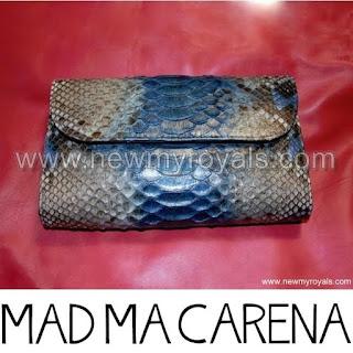 Queen Letizia Style Madmacarena Jessica clutch