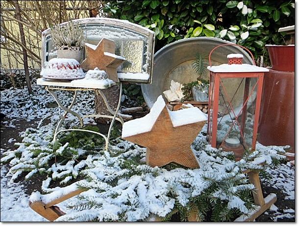 Neues vom lindenhof for Gartendeko winter