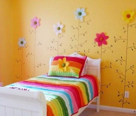 Warna Cat  Kamar Tidur  Anak Perempuan RumahJozz Desain