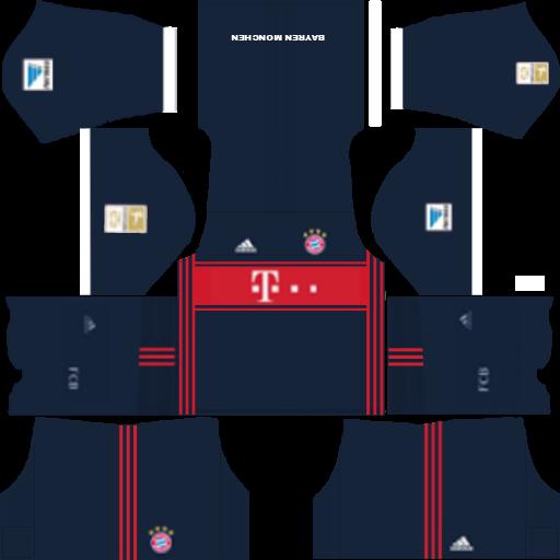 512×512 FC Bayern Munich KITS 2017/2018