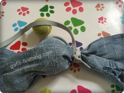 Bastelanleitung - Hundespielzeug - Jeansmännchen