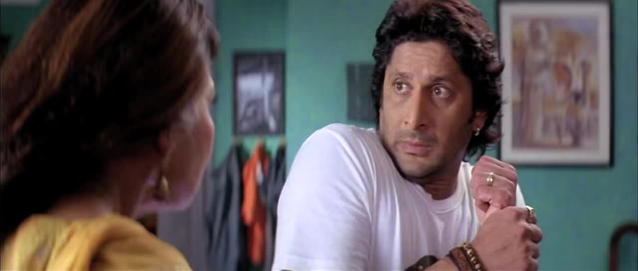 Screen Shot Of Dhamaal 2007 Full Movie Free Download 300MB 720P HD HEVC Watch Online