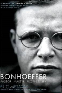 http://www.amazon.com/Bonhoeffer-Pastor-Martyr-Prophet-Spy/dp/1595552464/ref=sr_1_1?ie=UTF8&qid=1440645819&sr=8-1&keywords=bonhoeffer