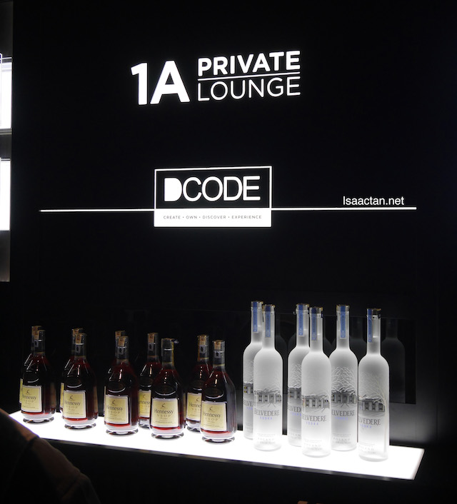 KL's most exclusive speakeasy lounge, the DCODE 1A Private Lounge