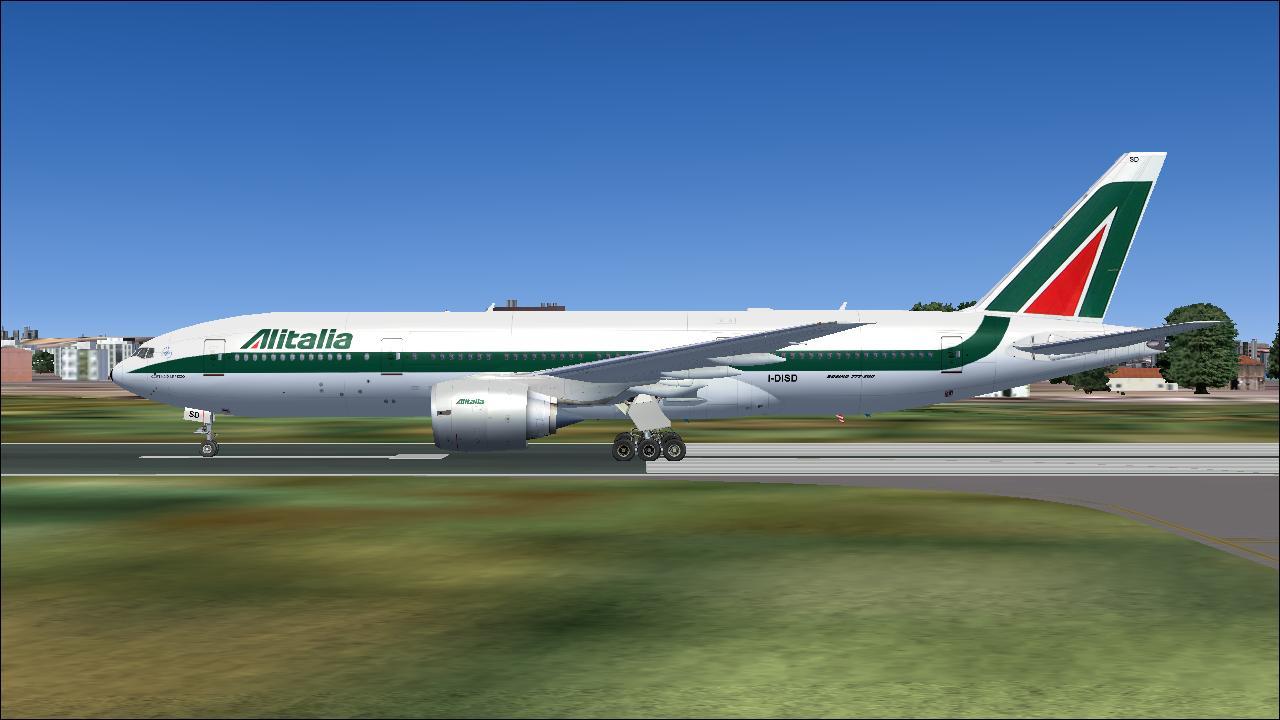 FS2004 - 777-200 ER SIMMER'S SKY « FS2004 ULTRAMEGA - FS9/FSX