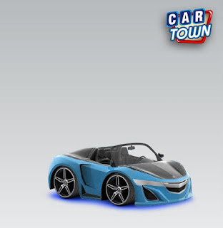 Acura Super Car 2012 Blue by Funkylion