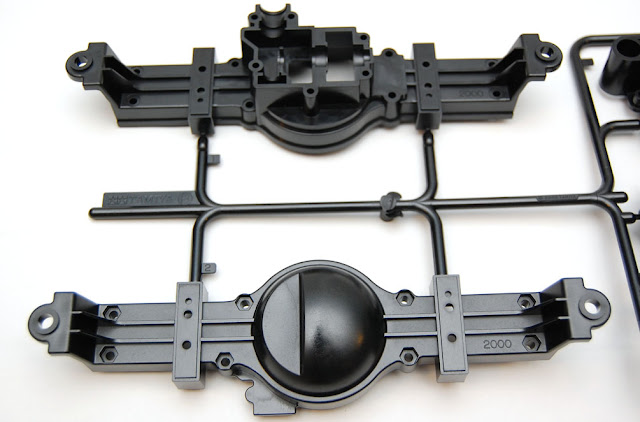 Tamiya TXT-1 axle housing
