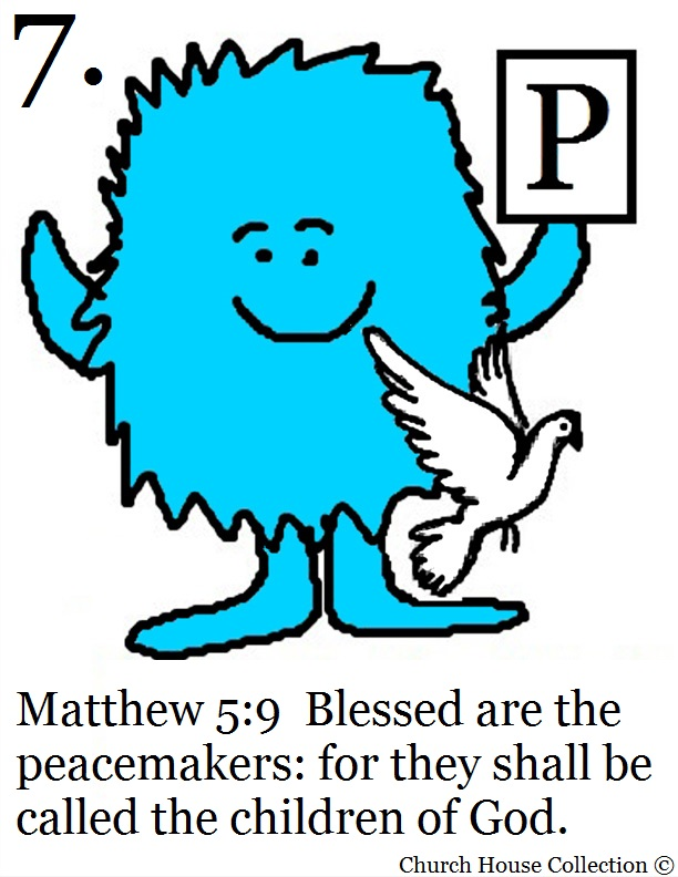Clip Art Of Blessed Are The Meek