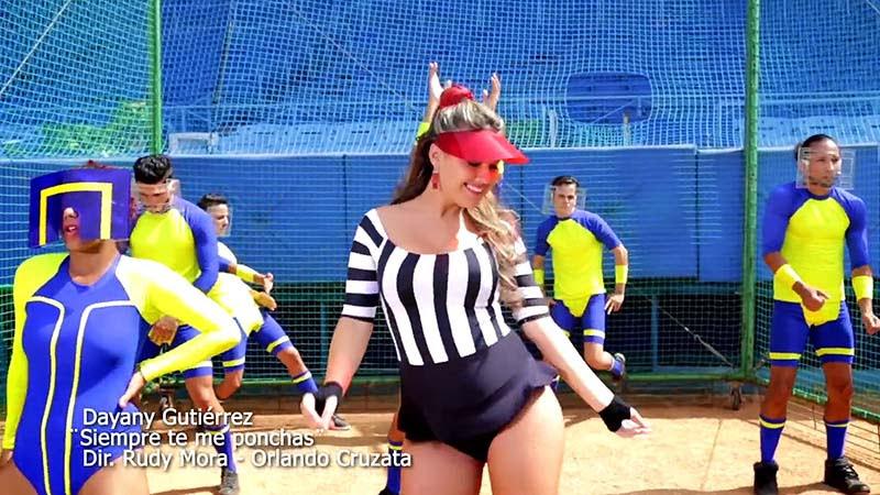 Dayany Gutiérrez - ¨Siempre te me ponchas¨ - Videoclip - Dirección: Rudy Mora - Orlando Cruzata. Portal Del Vídeo Clip Cubano