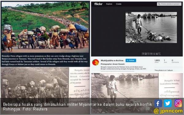 Junta Milter Myanmar Merekayasa Sejarah Rohingya demi Benarkan Genosida