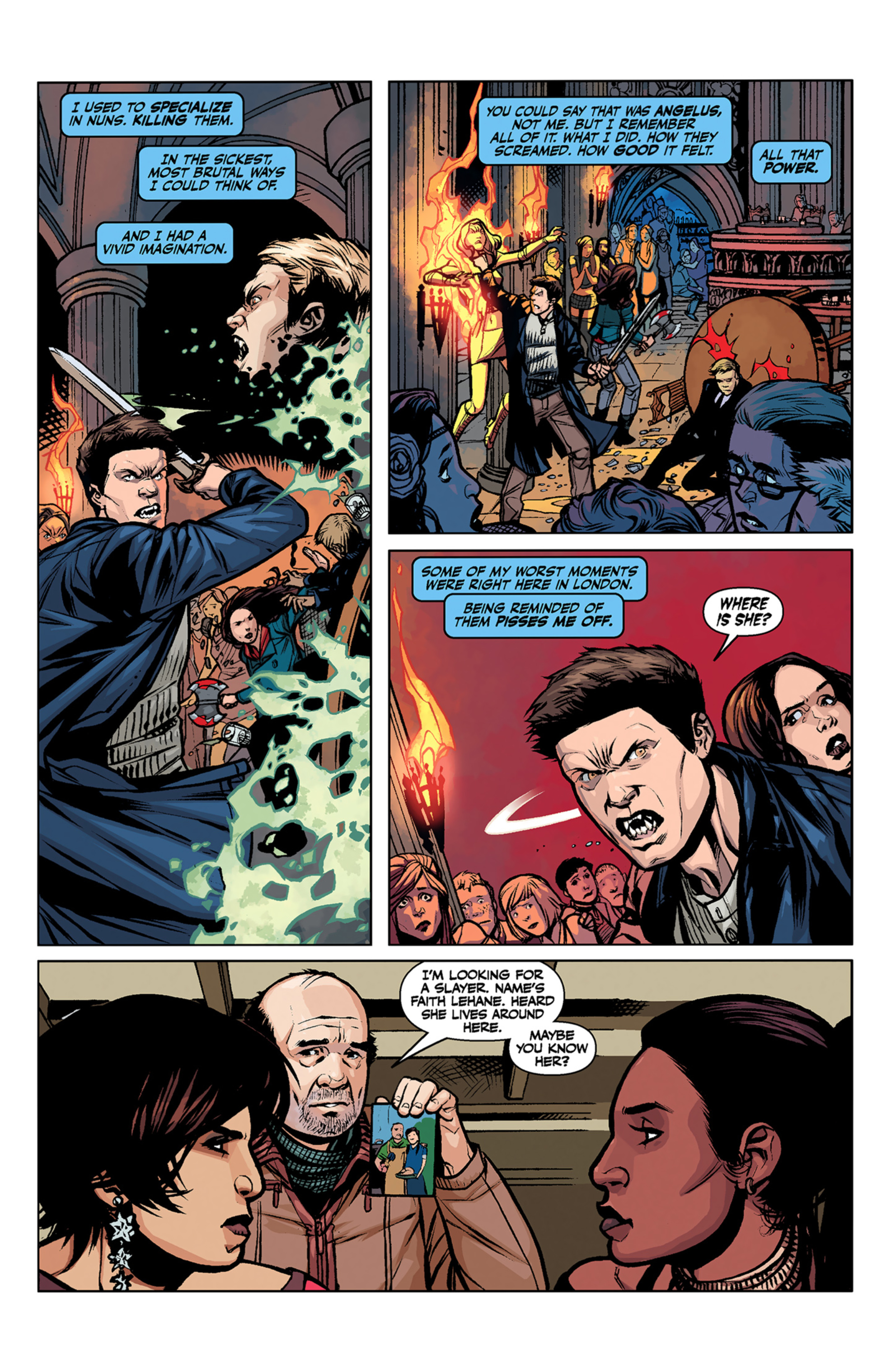 Read online Angel and Faith comic -  Issue #6 - 22