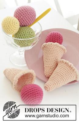 Glace au crochet