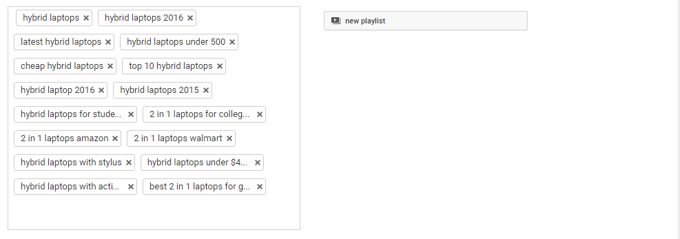 Youtube SEO Tags