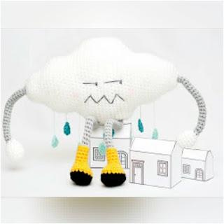 patron amigurumi Nube enojada gallimelmas e imaginancias