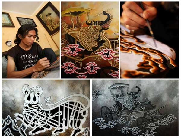 Lukisan Kaca dari Cirebon