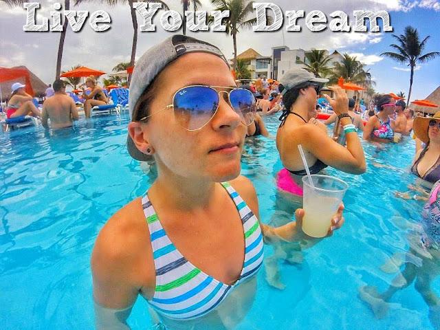 Punta Cana, Beachbody Success Club Trip, Jaime Messina, foam party, fireworks, BEachbody Coaching, lgbt, lesbian fitness, fit lesbian, lesbian beachbody coach, health coach, free trips, Chris Downing, Shift Shop, live your dream