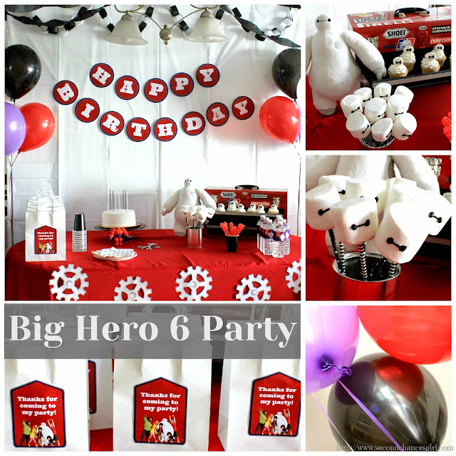 DIY Big Hero 6 Baymax party