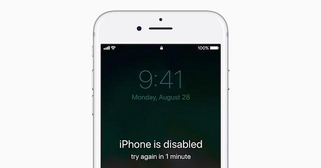 "Cara Perbaiki ""iPhone is Disabled"" tanpa iTunes"