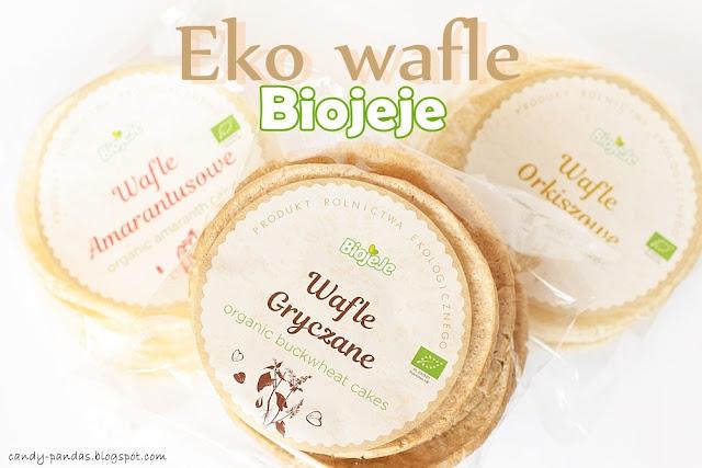 Eko wafle gryczane/ amarantusowe/ orkiszowe - Biojeje + KONKURS!