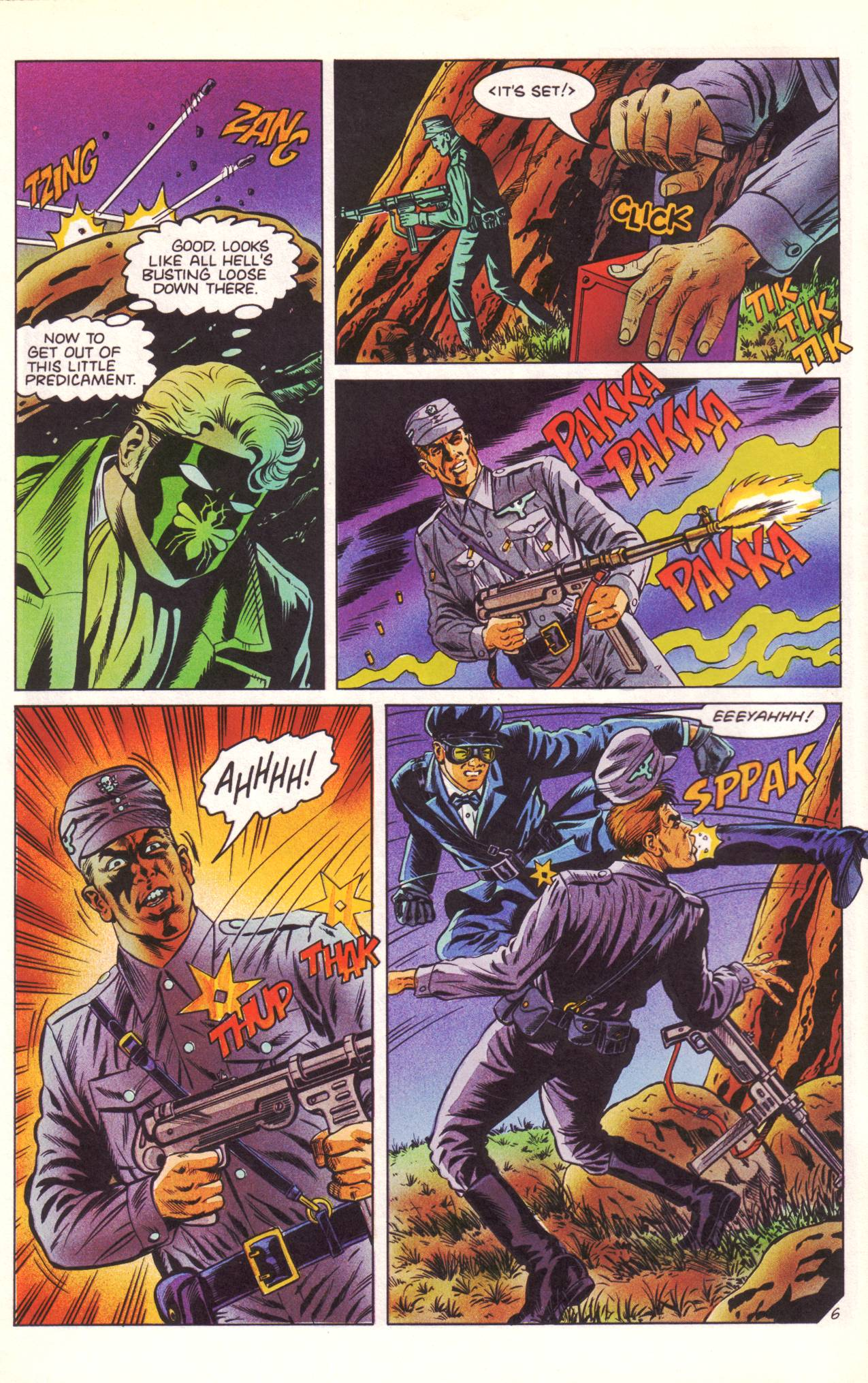Read online Sting of The Green Hornet comic -  Issue #3 - 7