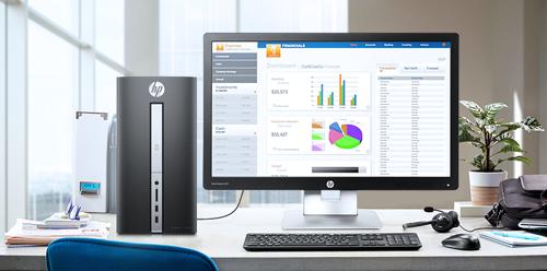 Giới thiệu mẫu máy tính để bàn HP Pavilion 570 cho doanh nghiệp