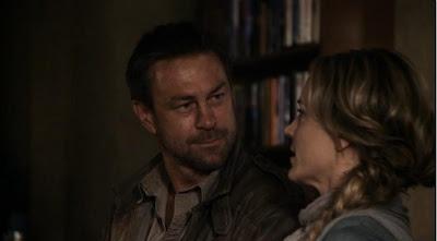 Defiance Nolan Amanda Rosewater Grant Bowler Julie Benz screencaps flirting